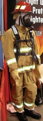 A concern for turnout gear manufacturers was to make the ensemble comfortable.