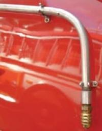 L-shaped Fog Tip Applicator Fire Apparatus