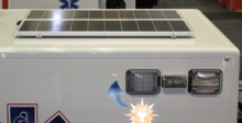 PL Custom is offering the option of solar panels atop its ambulances to solve the problem of too many portable electronics using up too many amps.