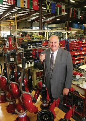 TFT company president Stewart McMillan