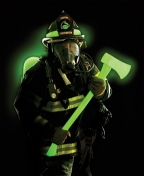 Tools and PPE using Foxfire Glow technology