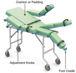 Invention Resource International's Adjustable Gurney