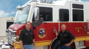 Pat Siddons (left) and Leon Martin of Siddons-Martin Emergency Group