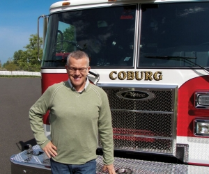Rex Hughes of Hughes Fire Equipment, whose Pierce dealer territory has been expanded to include the state of Arizona and Clark County in Nevada.