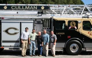 Cullman (AL) Receives an E-ONE Aerial