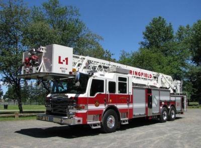 A Pierce Ultimate Configuration (PUC) pumper and a Pierce aerial platform have been delivered to the Springfield, Mass., Fire Department.