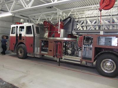 Avery Dennison Vinyl Wrap Ladder Truck