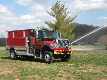 (1) The Waynesville (MO) Rural Fire Protection District turned to Rosenbauer for a Maverick pumper-tanker, with pump-and-roll capability that's useful in wildland and urban interface scenarios.