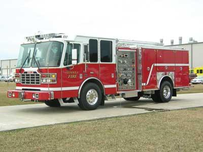 Ferrara Safety Award Ferrara Fire Apparatus MVP Aerial Pumper Rescue
