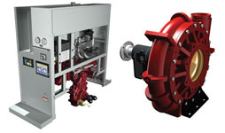 Waterous Integrated Pump Module and CRU single-stage centrifugal Hi-FLOW pumps
