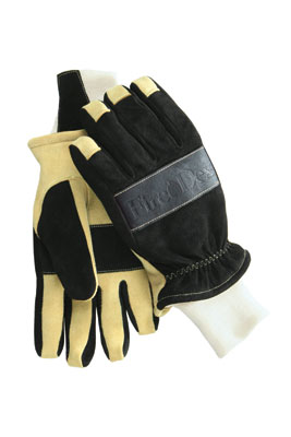 (6) Fire-Dex debuted its G1 structural glove, constructed with rollover seamless fingertips, precurved fingers, and a five-layer back.