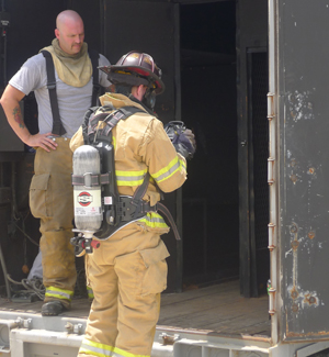 Avon-ISI's EchoTracer firefighter locator system