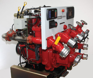 (2) The Hale Products subsidiary in the United Kingdom, Godiva, makes the Prima, a multistage high- pressure and UHP vehicle-mounted pump.