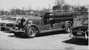 Bill Adams Two-Piece Engine Companies Pumpers