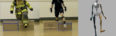 Park's team has analyzed the range of motion at each joint for eight male and four female firefighters, along with the pressure applied inside their boots to determine ways the body is impacted by wearing protective gear to understand what leads to poor balance and inefficient movement.
