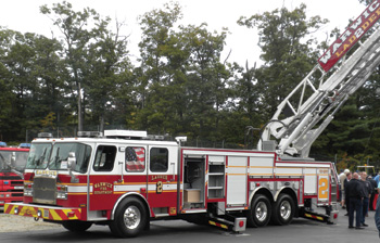 The first 137-foot E-ONE aerial ladder in New England
