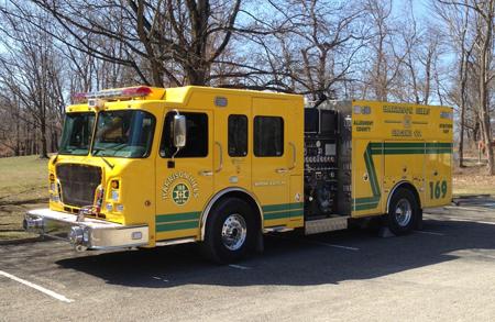 4Guys Spartan Fire Truck Hale pumper