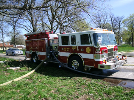 FDIC 2013 Fire Truck Photo of the Day