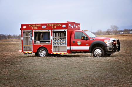 SVI Breathing Air Fire Apparatus F-550