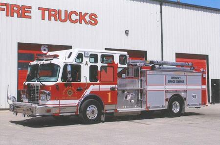 Fort Garry/Spartan-DND Canada, CFB Halifax, Nova Scotia, Canada, rescue pumper