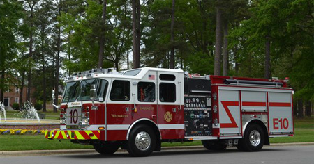 E-ONE-Whitakers (NC) Volunteer Fire Department, rescue pumper