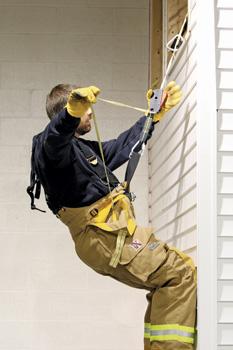 Fire-Dex offers a Class II harness integrated inside its bunker pants