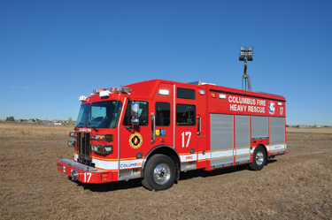 Sutphen Monarch 73-inch cabs and chassis with 20-inch raised roofs