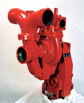 The Darley JMP 500 is a fire pump carried on all California Department of Forestry and Fire Protection (CAL FIRE) Model 34 Type III engines, along with a Darley 1-1/2AGE 24K auxiliary diesel pump