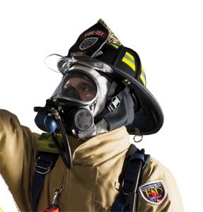 Fire-Dex's 1910 traditional model structural firefighting helmet