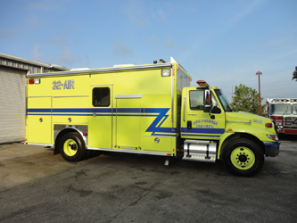 rescue built by E-ONE for the South Plattsburg (NY) Fire Department