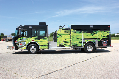rescue-pumper for the Manitowish Waters (WI) Fire Department