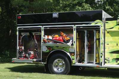The Manitowish Waters rescue-pumper