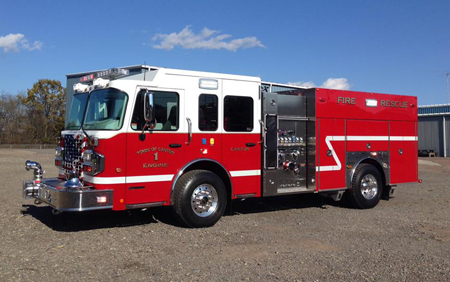 4 Guys/Spartan, Town of Canton (CT) Volunteer Fire & EMS Department, twin engines