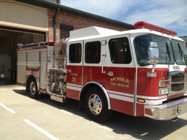 The Mobile (AL) Fire-Rescue Department contracts with Sunbelt Fire