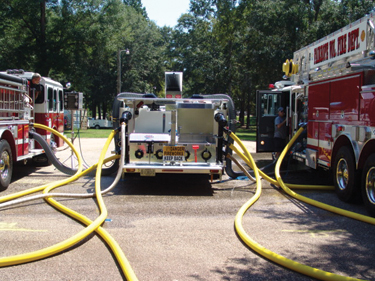 The Fairhope (AL) Volunteer Fire Department has used Sunbelt Fire to inspect and test its vehicles