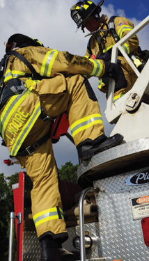 Honeywell's PRO series leather pull-on structural firefighting boots
