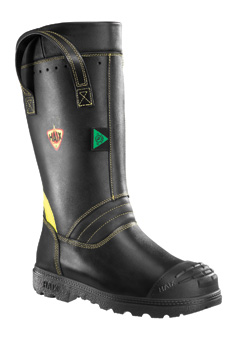 Haix's Fire Hunter Xtreme structural firefighting boots