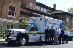 Delaware County (OH) EMS (DCEMS) Horton Emergency Vehicles Ambulance