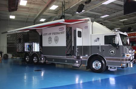 Pierce Velocity Mobile Command Apparatus Fremont California
