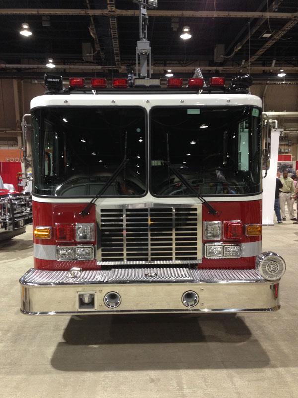 An HME apparatus at Fire Expo 2014.
