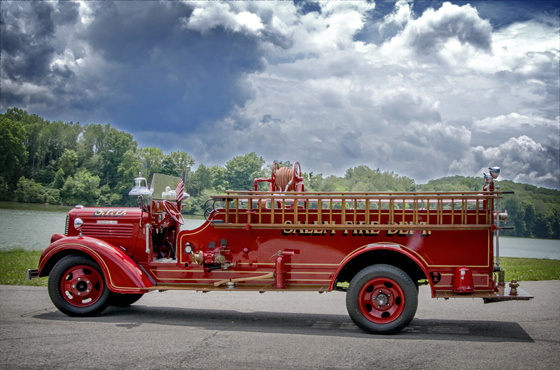 City of Salem (IN) Fire Department's 1937 Dodge Brothers/Howe Fire Apparatus
