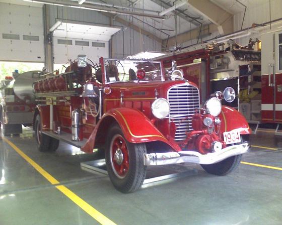 1934 Diamond T Fire Apparatus