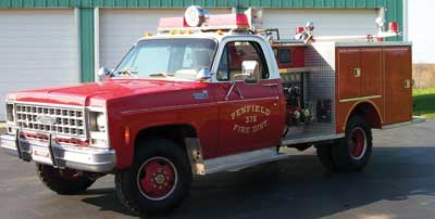 rig is typical of mini pumpers purchased during the late 1970s and early 1980s