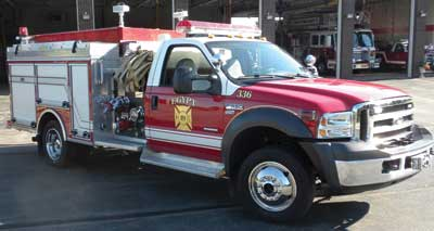 The Egypt (NY) Fire Department's second-generation, mission-specific mini pumper was not intended to replace a full-size pumper meeting NFPA 1901 Chapter 5 or a grass fire truck