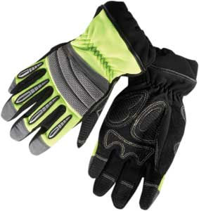 2 The MX-XT Mechflex extrication glove made by Lion uses a 3D design for dexterity and flexibilit