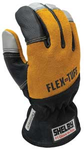 7 Shelby Glove makes the Shelby Flex-Tuff structural firefighting glove-a 3D glove