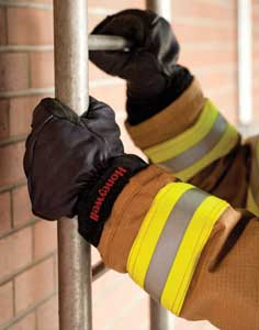 9 Honeywell First Responder Products' Super Glove is a 3D structural firefighting glove made of kangaroo leather for greater dexterity