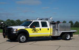 Danko Wildland Flatbed Fire Apparatus
