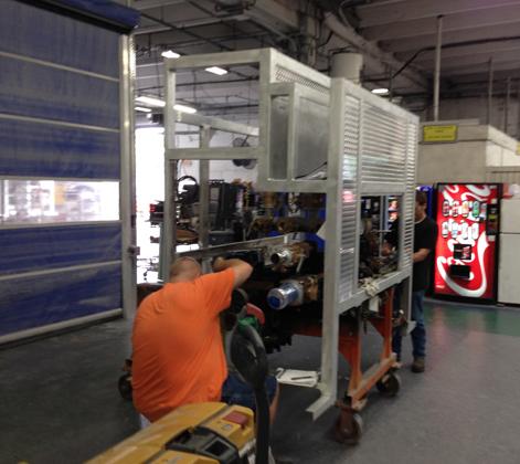 Pump Module Construction at  E-ONE's Ocala, Florida Factory