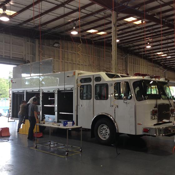 E-ONE Rescue At E-ONE's Ocala, Florida Factory